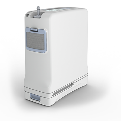 Portable Oxygen Concentrator G4 Inogen One Side View